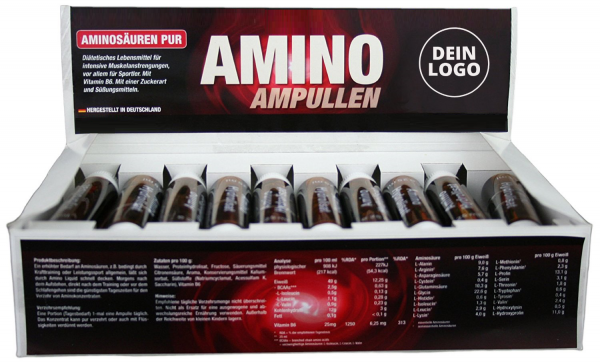 Amino Liquid 20 Ampullen à 25ml