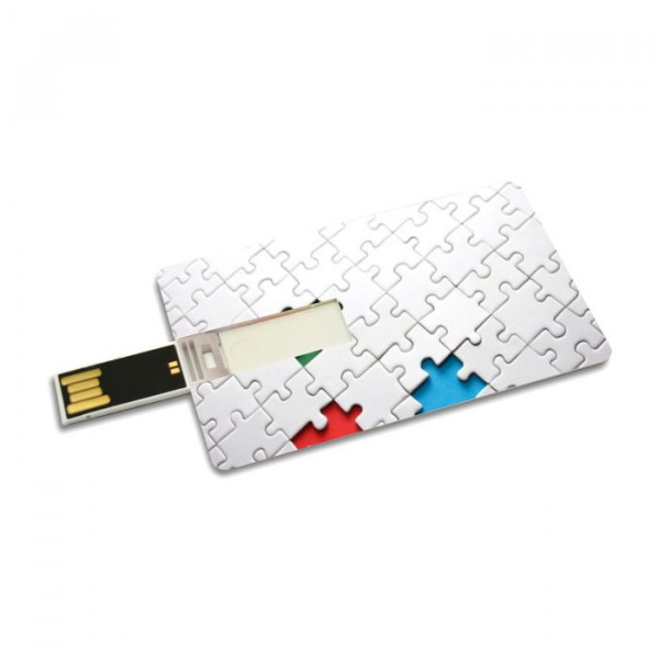 USB-Stick / USB flashdrive Checkkarten Design