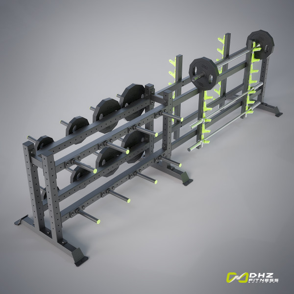 CROSSTRAINING Disk & Bar rack